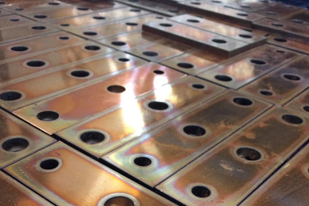 Laser Cutting Services Stainless Steel Salamander Fabs