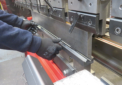 Salamander Welcomes New Amada Press Brake | Salamander Fabrications